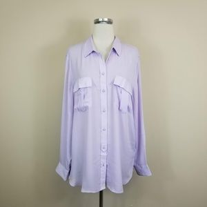 Banana Republic Dillon Classic Fit Blouse XL
